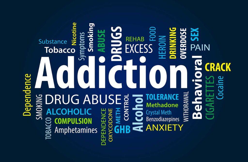 Afhængighed og addiction er det samme
